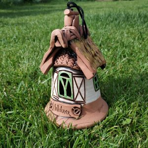 Pottery souvenir bell