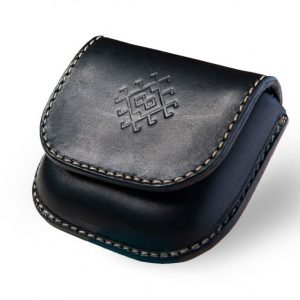 Handmade leather wallet for women