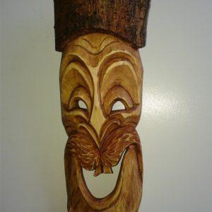Medium wooden mask