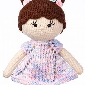 Handmade crocheted amigurumi toys